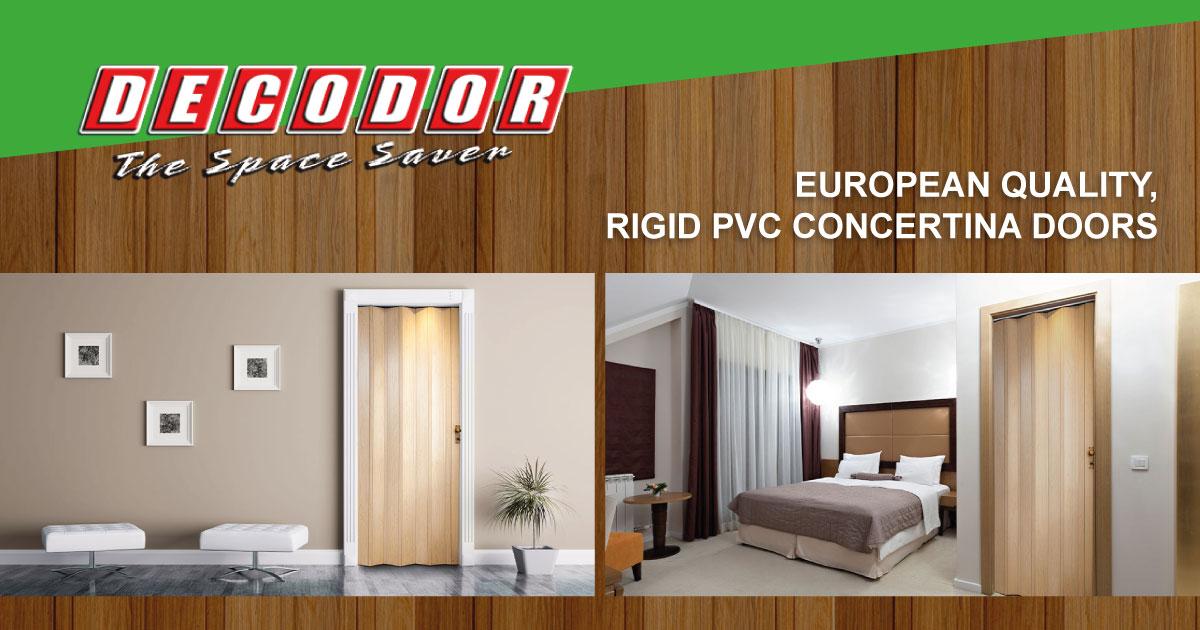 Pvc Doors Interior Door Space Saving Alternative